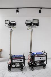 3KW移动汽油发电机带灯塔