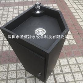 圣蓝单盆烤漆户外饮水台不锈钢直饮水台广场户外直饮水机