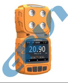 ERUN-PG7系列便携式多种气体检测仪