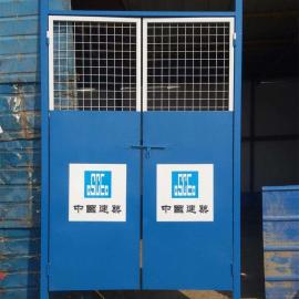 安平现货电梯门(大板)建筑工地安全门质优价廉长期现货