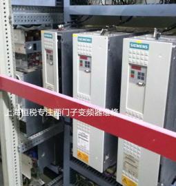 西门子6SE70变频器开机面板无显示(诊断与修理专家)