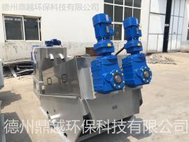 石油化工行业废水处理叠螺式压滤机污泥脱水机