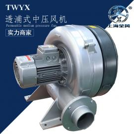 全风HTB-100-203多段式中压鼓风机 1.5kw透浦式中压风机