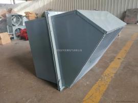 边墙风机WEX-400D4-0.19 风量2100m3/h配防雨罩,百叶窗