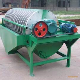 风化沙选矿干式磁选机 铁矿磁选机精选 筒辊式矿用磁选机