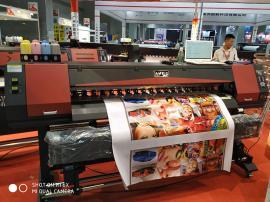华美HM-1600户外广告打印机户内压电写真机