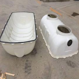 10立方 玻璃钢化粪池 地埋式化粪池 玻璃钢小型化粪池家用化粪池