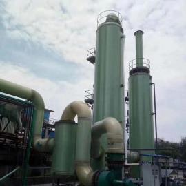 klt3万流量2级塔 玻璃钢脱硫 工业除尘设备