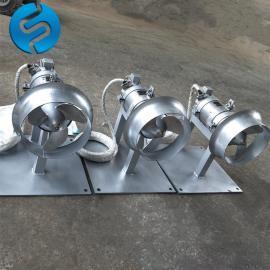 污泥沉淀池搅拌机安装方法 QJB1.5-260潜水搅拌机
