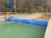 江河翻板 液压翻板坝液压活动坝翻板闸门升降坝|景观坝JH-YYB6X2