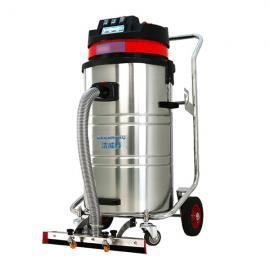 工业厂房用吸铁屑,焊渣颗粒,粉尘,工业吸尘器洁威科WB-8036P