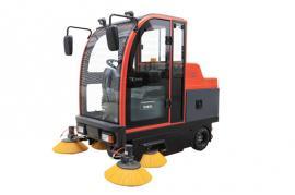 全封闭驾驶工业扫地机,无尘扫地车,道路清扫车,吸尘清扫机