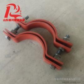双螺栓管夹A5-1基准型双螺栓管夹
