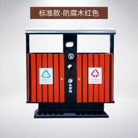 户外钢木垃圾桶 分类垃圾桶定制 垃圾桶标志图片大全