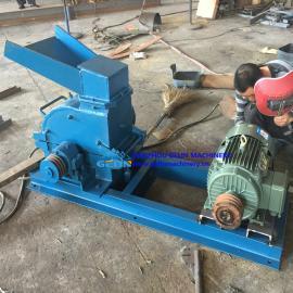 200*500柴油机打砂机 柴油机制砂机 移动式锤式破碎机