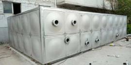 方形不锈钢水箱外形鼓包形状的作用
