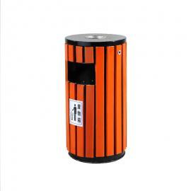 户外圆桶垃圾桶图片 景区垃圾桶 可回收垃圾桶标识图片