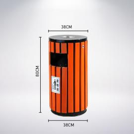 圆桶垃圾桶分类标识图片 环保垃圾箱定做 可回收垃圾桶图片