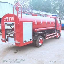 乡村专用小型消防车 电动消防车 水罐消防车的使用方法
