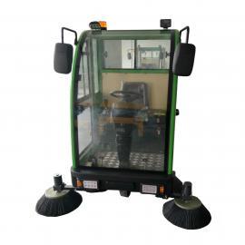 全封闭电动驾驶式扫地车 2000型工业专用地面清扫车