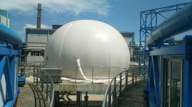 沼气收集沼气柜 300立方大型双膜气柜储气柜沼气柜