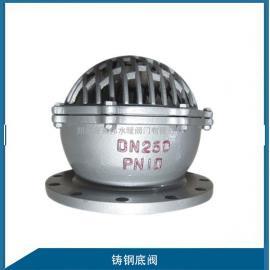 铸钢法兰底阀H42W-16C/10C