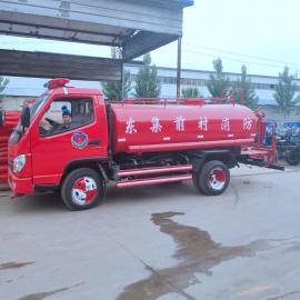 小型消防车 乡镇专用消防车 商场专用水罐消防车