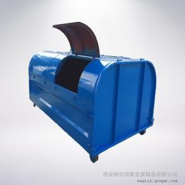 大型�敉饫�圾桶 室外勾臂垃圾桶尺寸��� 垃圾桶大小�格