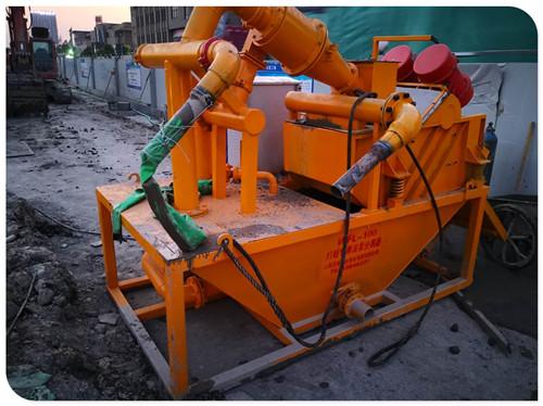 修路用的泥浆分离脱水设备