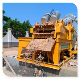 细砂回收机解决工程泥沙分离污染问题