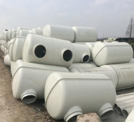 新型模压化粪池 玻璃钢化粪池 家用小型模压化粪池生产工艺严格