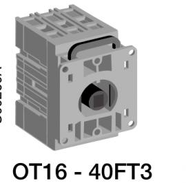 ABB代理隔离开关OT40FT3-40A-3P