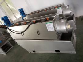 大型叠螺机设备可车载污泥脱水机叠螺式压滤机