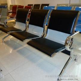 不锈钢连排椅规格 火车站候车椅定制定做 三人位电镀排椅尺寸