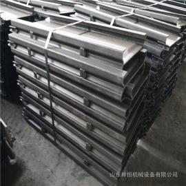 煤矿井下运输SGB620/40T中部槽 加焊强化耐磨合金40T刮板机溜槽