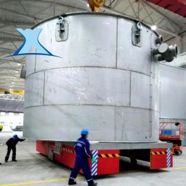 钢包车 大型钢包渣转运防侧翻钢包车1-500吨拖缆供电电动平车