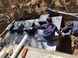 500m3/d地埋式生活污水处理设备工艺