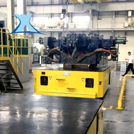 钢卷轨道平车30吨可定制搬运电缆卷筒平板车
