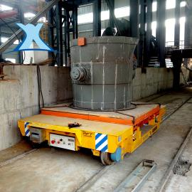 车间高温钢水搬运用电动平车 短距离电缆供电搬运车