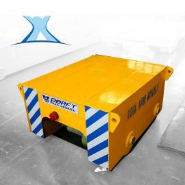 电动钢包车重型模具轨道平车搬运锂电池平板车无轨铝卷电动平车