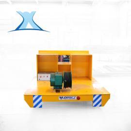 磁滞耦合式电缆卷筒平板车 冶金重工用轨道平车方案
