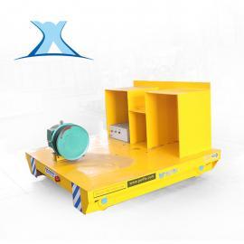 卷筒式电动平板车 60米卷线式轨道电动平车