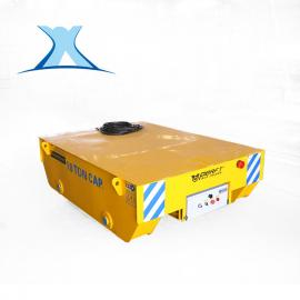拖缆电动平车建材平衡梁轨道平板车90°翻转车重载电动平板车