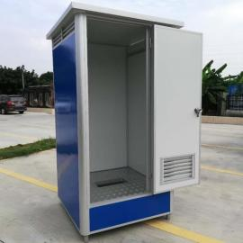 环保移动洗手间 公园移动公厕规格 成品可移动公共厕所图片