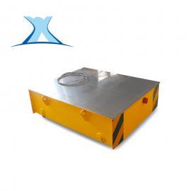 电机设备转运车电缆卷筒式供电运输平板车