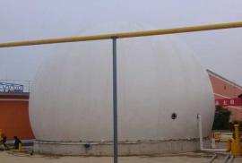 海越双膜沼气储气柜/双膜沼气柜/膜储气柜