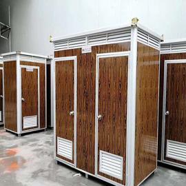 定制双人位移动厕所 彩钢板移动厕所图片 移动厕所生产