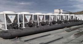 程浩新能源空气能热泵学校工地热水工程空气源热泵取暖