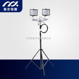 定制SFD3000B便携式2x500W升降工作灯
