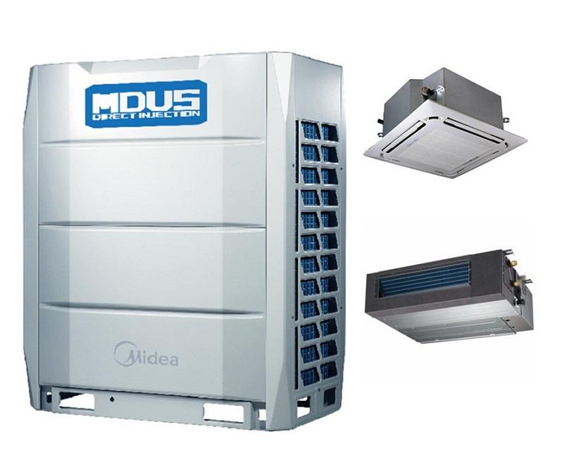 美的商用中央空调 美的空调风管机带水泵3匹 MDV-D71T2/N1-C3